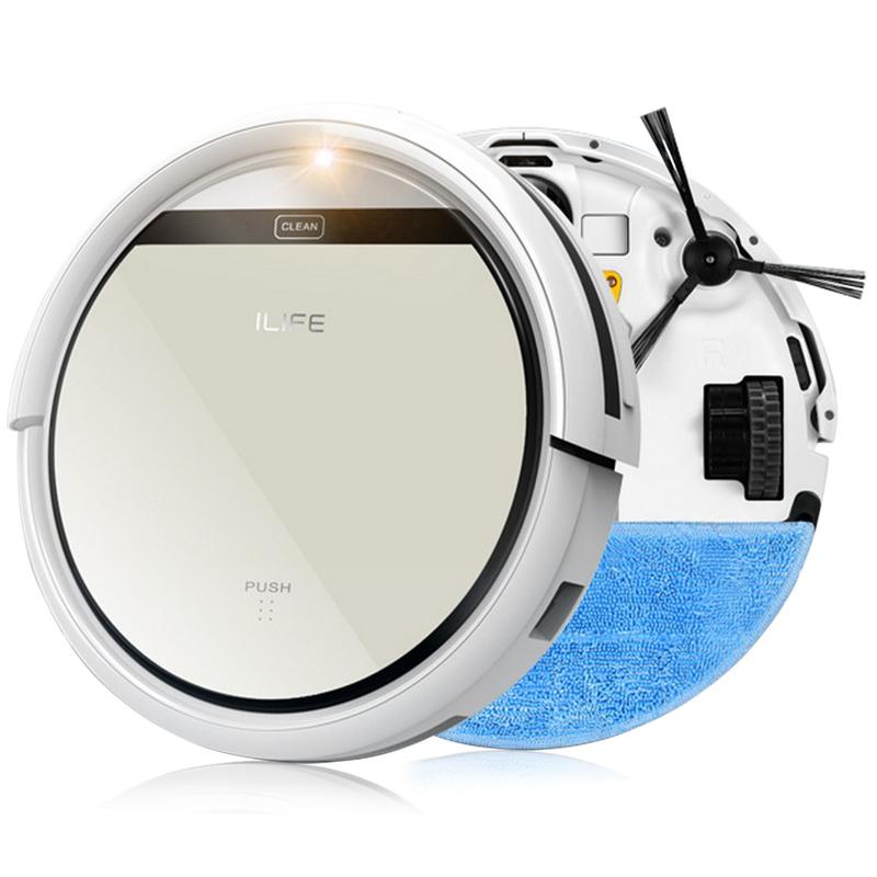 LIFE V3S Pro, robotický vysavač, bílá