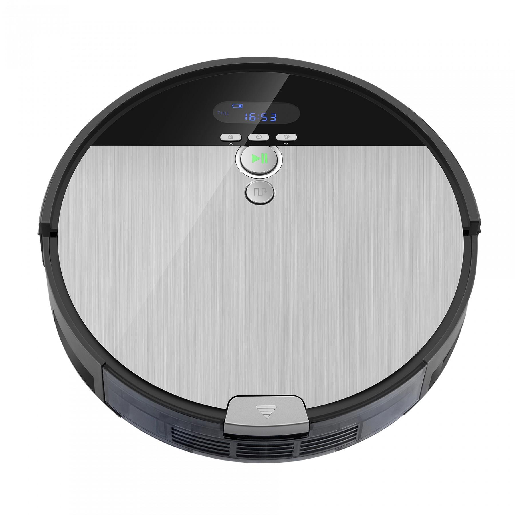 ILIFE V8S, robotický vysavač s navigací, černé - šedá