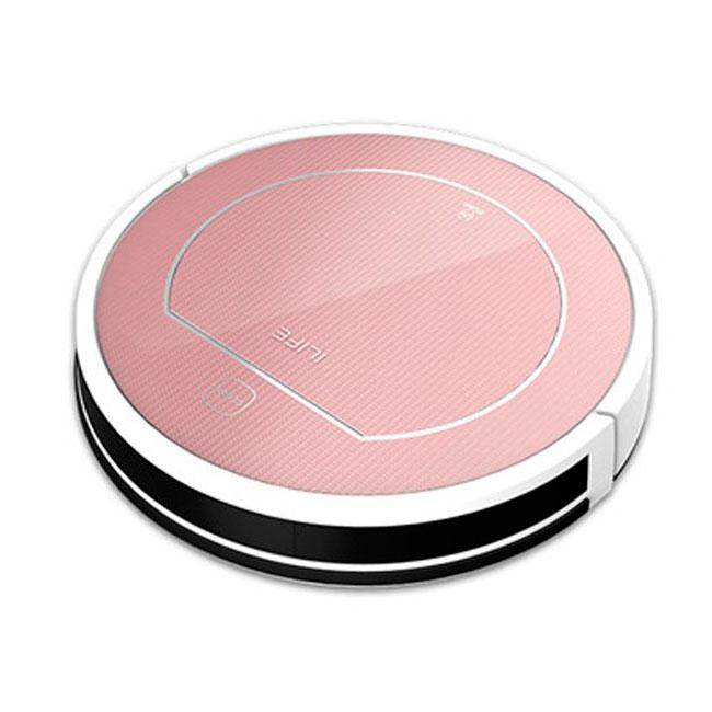 ILife V7S Pro inteligentní robotický vysavačm, mokré a suché čištění, rose-gold
