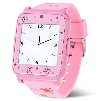 Creazydog W90 Smart Watch Phone, pink