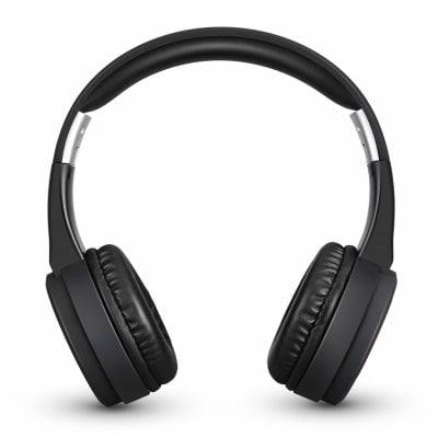Excelvan YS-BT9956 - Nabíjecí bezdrátová bluetooth skládací sluchátka s radiem FM a slotem SD karet, černé