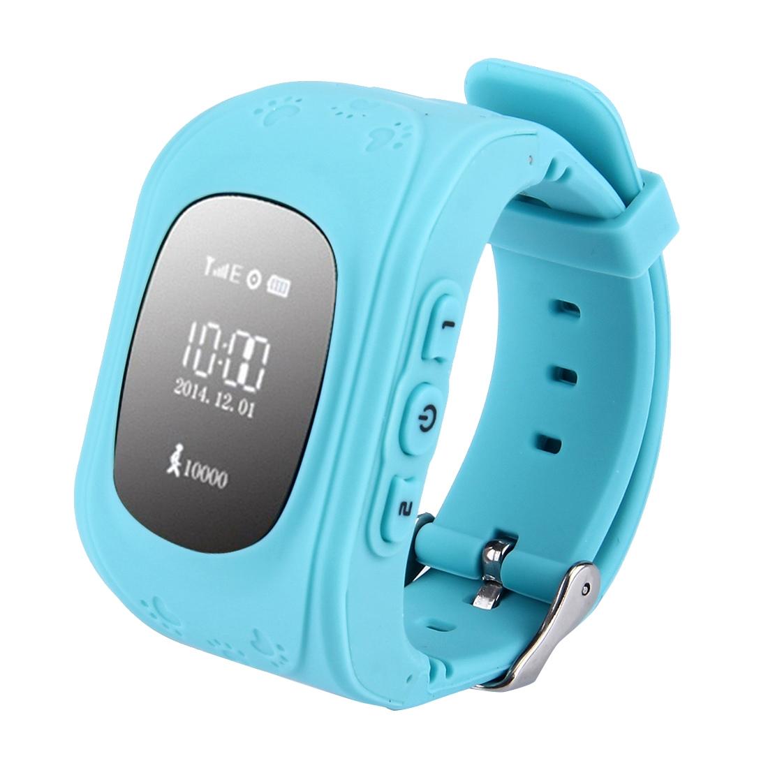WECOULD Q50 Dětské GPS hodinky, modrá