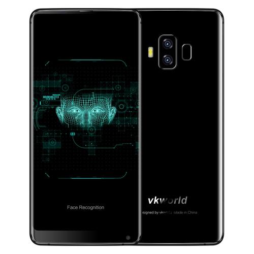 VKworld S8, 4GB+64GB, funkce rozpoznávání obličejů, černá