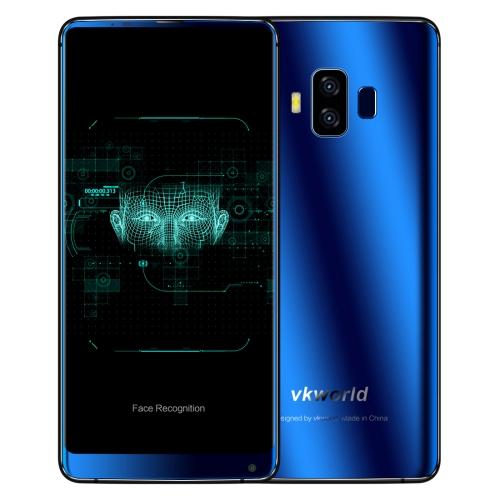 VKworld S8, 4GB+64GB, funkce rozpoznávání obličejů, modrá