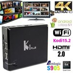 Test a recenze K1 Plus Android TV Boxu.