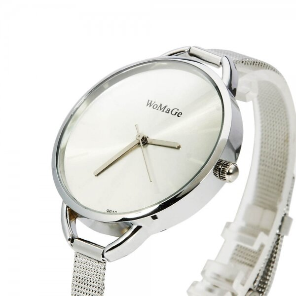 0c14be03a83 WoMaGe 9940 Dámské hodinky stříbrné