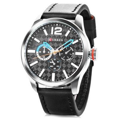 CURREN 8247 pánské Quartz hodinky b38113ad9d