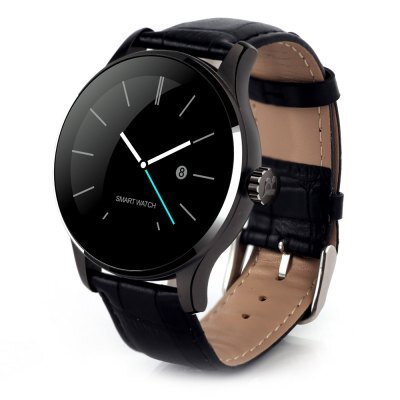 451ad6ad3 Smart Watch K88H 2018, kůže černá